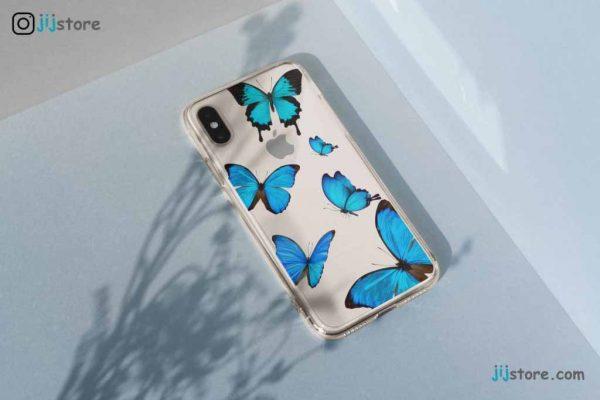 چاپ قاب گوشی طرح پروانه2