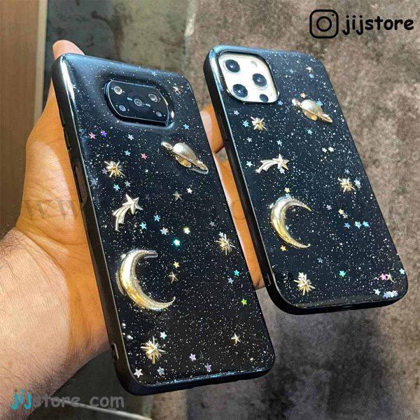 قاب ماه و کهکشان برجسته 3